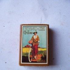 Cajas de Cerillas: CAJA DE CERILLAS CARTELES DE BICICLETAS Nº12 (VACIA). Lote 5736800