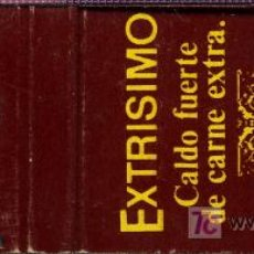 Cajas de Cerillas: CERILLAS - EXTRISIMO. AVECREM DE CARNE. Lote 5883752