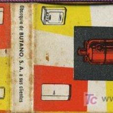 Cajas de Cerillas: CERILLAS - BUTANO. FELICES NAVIDADES 1960. Lote 5884330