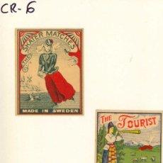 Cajas de Cerillas: (CR-6)LOTE DE 3 CAJAS DE CERILLAS. Lote 6275047