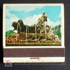Cajas de Cerillas: CERILLAS CARTERITA.. MADRID. LA CIBELES...ENVIO GRATIS¡¡¡. Lote 6737745