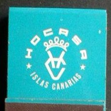 Cajas de Cerillas: CAJA DE CERILLAS CARTERITA. ISLAS CANARIAS.....ENVIO GRATIS¡¡¡. Lote 6737764