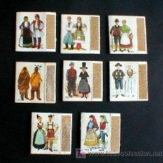 Cajas de Cerillas: CAJA DE CERILLAS TRAJES TIPICOS DE EUROPA.....ENVIO GRATIS¡¡¡. Lote 26955244