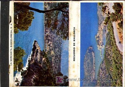 CERILLAS - RECUERDO DE MALLORCA (Coleccionismo - Objetos para Fumar - Cajas de Cerillas)
