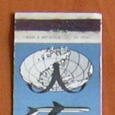 Cajas de Cerillas: SWISSAIR - LINEAS AÉREAS - CARTERITA DE CERILLAS EN PLANCHA. Lote 8413305