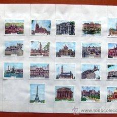 Cajas de Cerillas: MONUMENTOS - 36 ETIQUETAS DE LAS CAJAS DE CERILLAS - VER FOTOS ADICIONALES. Lote 8547948
