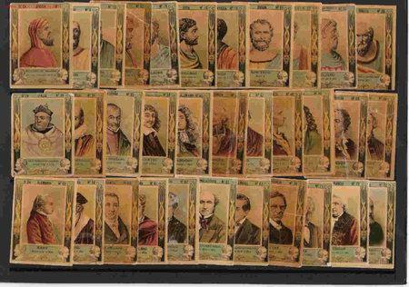 PRECIOSA SERIE Nº 24 DE 33 FOTOTIPIAS DEL AÑO 1900 (Coleccionismo - Objetos para Fumar - Cajas de Cerillas)