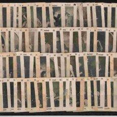 Cajas de Cerillas: PRECIOSA SERIE Nº(A) DE 75 FOTOTIPIAS DEL AÑO 1900 . Lote 20534374