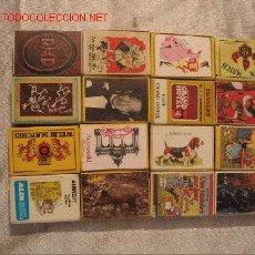 Cajas de Cerillas: 16 CAJAS CERILLAS DE BELGICA. Lote 6098736