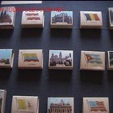 Cajas de Cerillas: COLECCIÓN COMPLETA 60 CAJAS DE CERILLAS BANDERAS Y MONUMENTOS. Lote 17618514