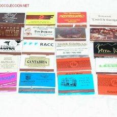 Cajas de Cerillas: CAJAS DE CERILLAS DE PROPAGANDA LLENAS . Lote 2820636