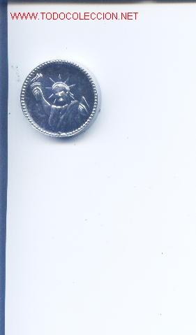 Cajas de Cerillas: Encendedor dedicado a John F.Kennedy.detras aparece la estatua de la libertad.años 60 - Foto 2 - 5606031
