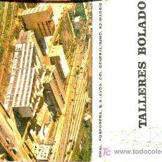 Cajas de Cerillas: CERILLAS - SANTANDER - TALLERES BOLADO - AÑOS 60-70. Lote 10491475