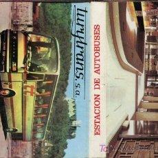 Cajas de Cerillas: CERILLAS - SANTANDER - TURYTRANS. ESTACIÓN DE AUTOBUSES - AÑOS 60/70. Lote 10684793