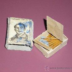 Cajas de Cerillas: COLECCION TEMPORADA DE FUTBOL 1936 - 1937 Nº 79 MANUEL FERNANDEZ. Lote 11856644