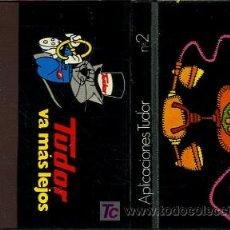 Cajas de Cerillas: CERILLAS - TUDOR VA MAS LEJOS. APLICACIONES TUDOR Nº 2 EN TELEFONÍA - AÑOS 60/70. Lote 24005410