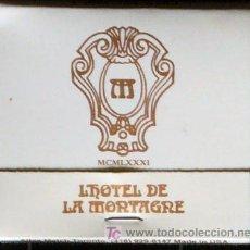 Cajas de Cerillas: CERILLAS DEL HOTEL LA MONTAGNE DE MONTREAL.CANADA. Lote 17557455