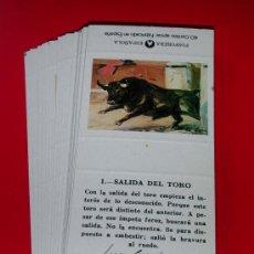 Cajas de Cerillas: TAUROMAQUIA. 20 ETIQUETAS CAJA CERILLAS..COLECCION COMPLETA.AÑO 1985 SIN RAYA.LOGO EN NEGRO. Lote 127740283