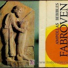 Cajas de Cerillas: CERILLAS - AMPOLLAS BEBIBLES. FABROVEN. VENOTONICO - AÑOS 60-70. Lote 12595317