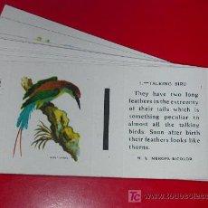 Cajas de Cerillas: AVES.30 ELEMENTOS .FOSFORERA ESPAÑOLA. AVERAGE 40 MATCHES.COMPLETA. AÑO 1962. Lote 180008423