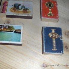 Cajas de Cerillas: 4 CAJAS DE CERILLAS.. Lote 13259807