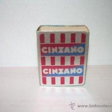 Cajas de Cerillas: ANTIGUO ESTUCHE DE ALUMINIO PARA CAJA PARA CERILLAS CINZANO.. Lote 18494752