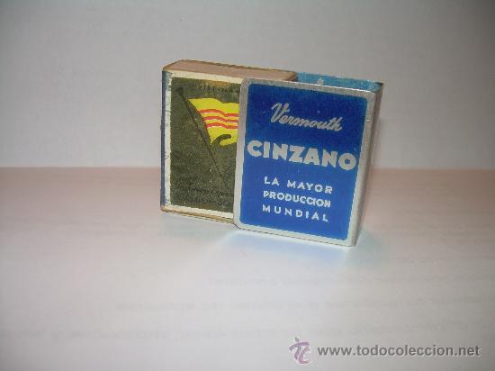 Cajas de Cerillas: ANTIGUO ESTUCHE DE ALUMINIO PARA CAJA PARA CERILLAS CINZANO. - Foto 2 - 18494752