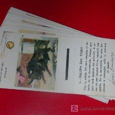 Cajas de Cerillas: TAUROMAQUIA.20 ETIQUETAS CAJA CERILLAS.COLECCION COMPLETA.AÑO 1974 CON RAYA.LOGO EN COLOR. Lote 26517554