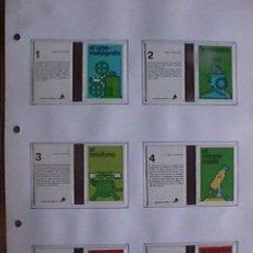 Cajas de Cerillas: CAJAS DE CERILLAS, INVENTOS, FOSFOROS DEL PIRINEO, COMPLETA, 12 CARTONES. Lote 15846556
