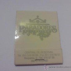 Cajas de Cerillas: CAJA CERILLAS PARADORES ANTIGUA. Lote 16028155