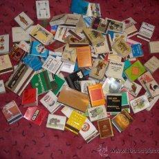 Cajas de Cerillas: LOTE 100 CAJAS DE CERILLAS ALGUNAS CON CERILLAS OTRAS SIN. Lote 25676060