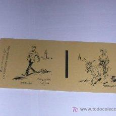 Caixas de Fósforos: ETIQUETA PARA CAJA DE CERILLAS.TOROS Y HUMOR. Nº I. OSELITO. AÑO 1958. Lote 18494145