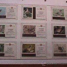 Cajas de Cerillas: CAJAS DE CERILLAS CAZA MAYOR Y CAZA MENOR, 20 CARTONES, COMPLETA, FOSFORERA ESPAÑOLA. Lote 17438546