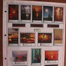 Cajas de Cerillas: CAJAS DE CERILLAS CONTRALUCES, 12 CARTONES, COMPLETA, FOSFOROS DEL PIRINEO . Lote 17438941