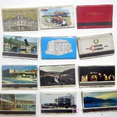 Cajas de Cerillas: LOTE 12 CAJAS DE CERILLAS SOBRE PUBLICIDAD. Lote 18696121