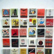Cajas de Cerillas: LOTE 36 CAJAS DE CERILLAS PUBLICIDAD. Lote 22177874