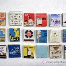 Cajas de Cerillas: LOTE 18 CAJAS CERILLAS. Lote 17916517