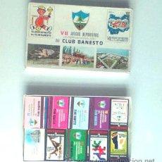 Cajas de Cerillas: CAJA GRANDE DE CERILLAS, PUBLICIDAD DE BANESTO, 1971. Lote 27153262