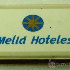 Cajas de Cerillas: CAJA CERILLAS PUBLICIDAD MELIA HOTELES VACIA. Lote 18876064