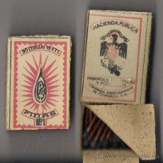 Boîtes d'Allumettes: CAJA DE CERILLAS POR ESTRENAR FINAS Nº 1 **30 CERILLAS 15 CTS.**. Lote 19487322