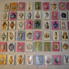 Cajas de Cerillas: LOTE 51 CAJAS CERILLAS SERIES CERAMICA AÑOS 70. Lote 26698589