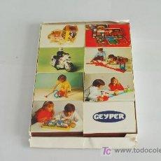 Cajas de Cerillas: ESTUCHE CON 8 CAJAS DE CERILLAS PUBLICITARIAS DE JUGUETES GEYPER.. Lote 26303201