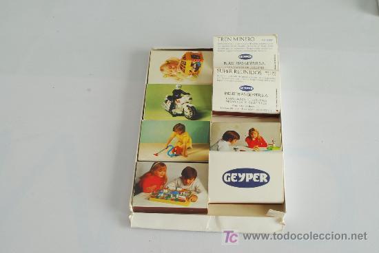 Cajas de Cerillas: Estuche con 8 cajas de cerillas publicitarias de juguetes Geyper. - Foto 2 - 26303201