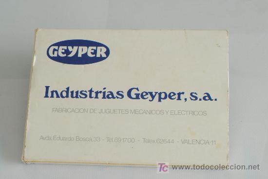 Cajas de Cerillas: Estuche con 8 cajas de cerillas publicitarias de juguetes Geyper. - Foto 4 - 26303201