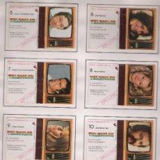 Cajas de Cerillas: PERSONAJE DE TVE. COMPLETA 12 CARTONES. PEGADOS EN ALBUM.. Lote 20783707