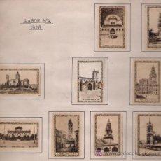 Cajas de Cerillas: MONUMENTOS DE ESPAÑA.COMPLETA 90 CARTONES .COMPAÑÍA ARRENDATARIA FÓSFOROS MADRID 1928 -. Lote 20789239
