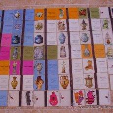 Cajas de Cerillas: LOTE 42 CAJAS DE CERILLAS ANTIGUAS: CERÁMICA ESPAÑOLA, INGLESA, FRANCESA, GRIEGA Y OTROS. AÑOS 60-70. Lote 26468659