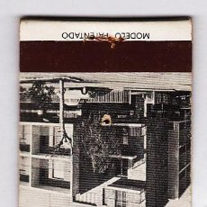 Cajas de Cerillas: CAJA CERILLAS / CARTERILLA.- HOTEL DE FRANCIA .- REUS .- SIN CERILLAS .- AÑOS 60 / 70. Lote 21506025