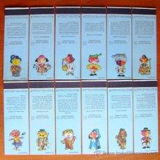 Cajas de Cerillas: FIGURAS TIPICAS PORTUGUESAS - CAJITAS DE CERILLAS DE PORTUGAL - COLECCION COMPLETA 24 CAJITAS-CAJAS. Lote 21656871