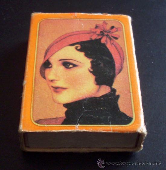 CAJA DE CERILLAS - SOMBREROS DE EPOCA (Coleccionismo - Objetos para Fumar - Cajas de Cerillas)